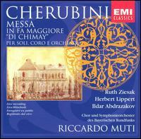 "Cherubini: Messa in Fa Maggiore ""Di Chimay"" - Herbert Lippert (tenor); Ildar Abdrazakov (bass); Ruth Ziesak (soprano); Bavarian Radio Chorus (choir, chorus);..."