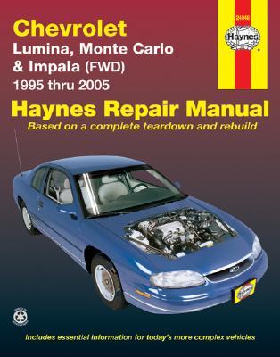 Chevrolet Lumina, Monte Carlo & Front-Wheel Drive Impala Automotive Repair Manual - Kibler, Jeff, and Freund, Ken