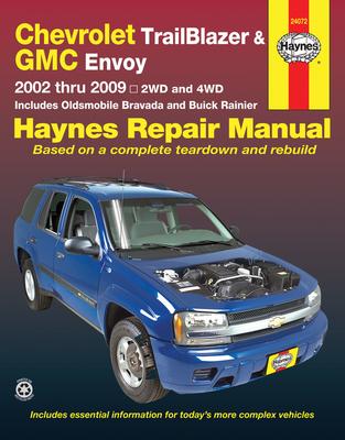 Chevrolet Trailblazer & GMC Envoy: 2002 Thru 2009 - 2wd and 4WD - Haynes, Max