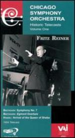 Chicago Symphony Orchestra Historic Telecasts, Vol. 1: Fritz Reiner