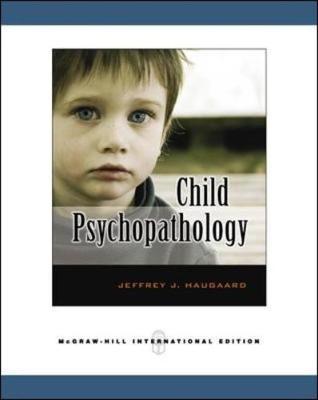 Child Psychopathology - Haugaard, Jeffrey J.