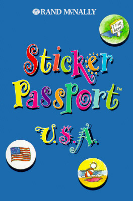 Children's Travel - Sticker Passport USA - Rand McNally