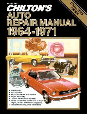 chilton s auto repair manual 1964 1971 collector s edition book rh alibris com chilton auto manuals free online chilton auto manuals for sale 96 jaguar xj6