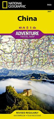 China - National Geographic Maps (Editor)