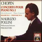 Chopin: Piano Concerto No. 1; Ballade No. 1; Polonaise No. 6