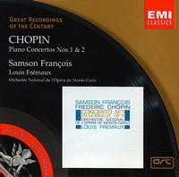 Chopin: Piano Concertos Nos. 1 & 2 - Samson François (piano); Monte Carlo National Opera Orchestra; Louis Frémaux (conductor)