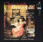 Christoph Graupner: Orchestral Works, Vol. 2