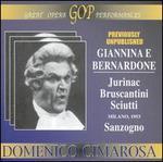 Cimarosa: Giannina e Bernardone