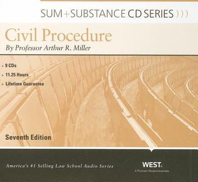 Civil Procedure - Miller, Arthur R