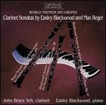 Clarinet Sonatas by Easley Blackwood and Max Reger