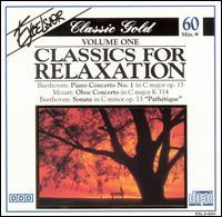 Classics for Relaxation, Vol. 1 - Akiko Miyazashi (flute); Camerata Labacensis; Caspar da Salo Quartett; Dubravka Tomsic (piano); Ivo Rogeljic (oboe);...