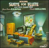 Claude Bolling: Suite for Flute and Jazz Piano Trio - Rampal, Jean-Pierre/Bolling, Claude
