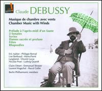 Claude Debussy: Musique de Chambre avec Vents - Aline Champion (violin); Claire Désert (piano); David Riniker (cello); Emmanuel Strosser (piano); Eric Aubier (trumpet);...