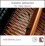 Claudio Ambrosini: The Piano Species
