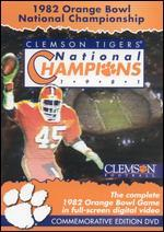Clemson Tigers: 1982 Orange Bowl National Championship