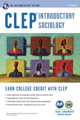 CLEP(R) Introductory Sociology Book + Online - Egelman, William