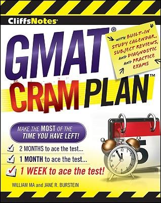 Cliffsnotes GMAT Cram Plan - Ma, William