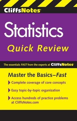 Cliffsnotes Statistics Quick Review, 2nd Edition - Adams, Scott, and Orton, Peter Z, and Voelker, David H
