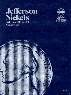 Coin Folders Nickels: Jefferson, 1938-1961 - Whitman