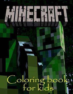 9781522949121 coloring book for kids minecraft fun for Minecraft crafts for kids