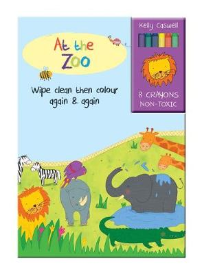 Colour Me Again and Again Book - At the Zoo -