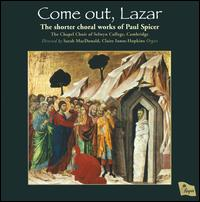 Come Out, Lazar - Claire Innes-Hopkins (organ); Chapel Choir of Selwyn College, Cambridge (choir, chorus)
