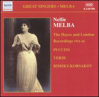Complete Grammophone Recordings, Vol. 4: The Hayes and London Recordings, 1921-26 - Aurora Rettore (mezzo-soprano); Browning Mummery (tenor); Edouard Cotreuil (bass); Frederic Collier (bass);...