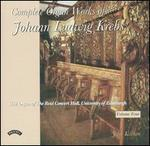 Complete Organ Works of Johann Ludwig Krebs, Vol. 4