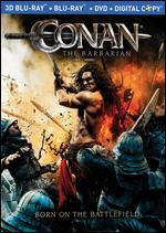 Conan the Barbarian [3D] [Blu-ray/DVD] [3 Discs]