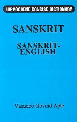 Concise Sanskrit English Dictionary - Mladen, Davidovic, and Apte, V G