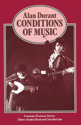 Conditions of Music - Durant, Alan