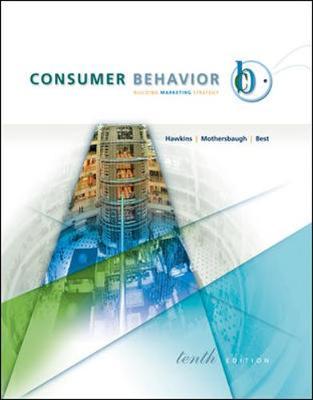 Consumer Behavior with Ddb Life Style Studytm Data Disk - Hawkins, Delbert I, Dr.
