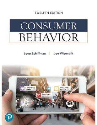 Consumer Behavior - Schiffman, Leon G., and Wisenblit, Joseph L.
