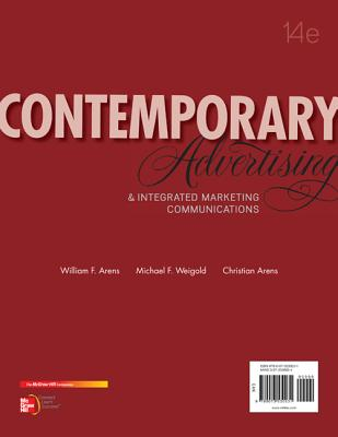 Contemporary Advertising: and Integrated Marketing Communications - Arens, William F., and Weigold, Michael F., and Arens, Christian