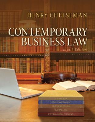 Contemporary Business Law - Cheeseman, Henry