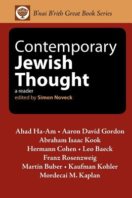 Contemporary Jewish Thought: A Reader - Noveck, Simon (Editor)