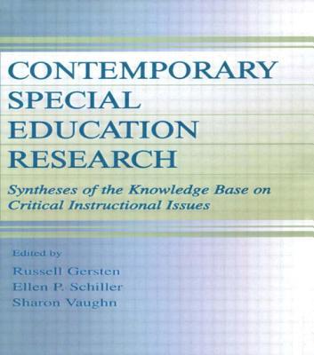 Contemporary Special Education PR - Gersten, Russell (Editor), and Schiller, Ellen P (Editor), and Vaughn, Sharon R (Editor)