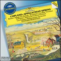 Copland: Appalachian Spring; Barber: Adagio for Strings; Bernstein: Candide Overture; Schuman: American Festival Over - Los Angeles Philharmonic Orchestra; Leonard Bernstein (conductor)