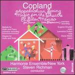 Copland: Appalachian Spring; Music for the Theatre; El Salón México