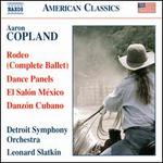 Copland: Rodeo; Dance Panels; El Salón México; Danzón Cubano