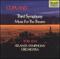 Copland: Third Symphony; Music For The Theatre - Atlanta Symphony Orchestra; Yoel Levi (conductor)