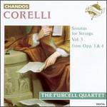 Corelli: Sonatas for Strings, Vol. 3 - Catherine Mackintosh (violin); Catherine Weiss (violin); Elizabeth Wallfisch (violin); Jakob Lindberg (theorbo);...