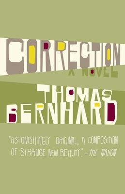 Correction - Bernhard, Thomas, Professor