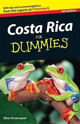 Costa Rica For Dummies - Greenspan, Eliot