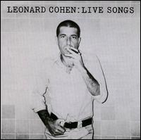 Live Songs - Leonard Cohen