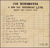 A New Day Yesterday: Live - Joe Bonamassa