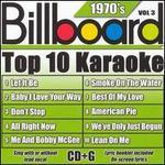 Billboard Top 10 Karaoke: 1970's, Vol. 3