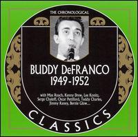 1949-52 Studio Performances - Buddy Defranco and His Orchestra
