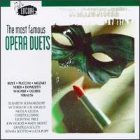 The Most Famous Opera Duets - Alfredo Kraus (tenor); Carlo Bergonzi (vocals); Carlo del Monte (vocals); Christa Ludwig (vocals); Danielle Millet (vocals);...