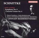 Schnittke: Symphony No. 8; Concerto grosso No. 6
